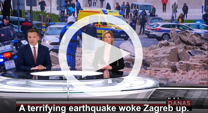 Earthquake reminder video